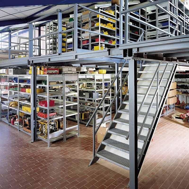 Steel Mezzanine Kits : Steel mezzanines